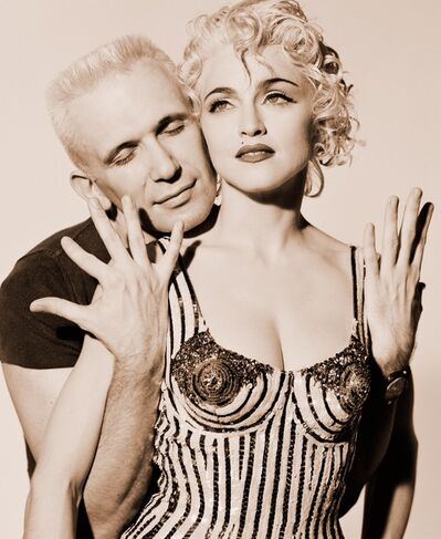 Herb Ritts, 'Madonna and Jean-Paul Gaultier', 1990