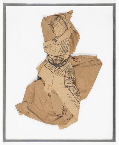 William Anastasi, 'Brown-Paper & Wire', 1965