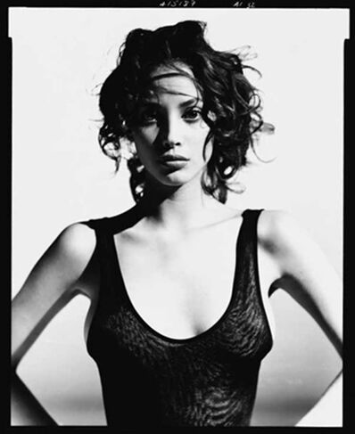 Arthur Elgort, 'Christy Turlington in Azzedine Alaia', 1987