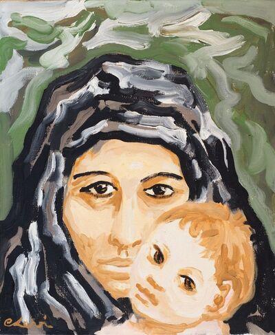Carlo Levi, 'Madre e bambino', 1963