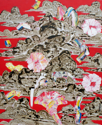 Lee, Hiechun (이희춘), 'Drawing for Flower; Garden of Dream', 2017