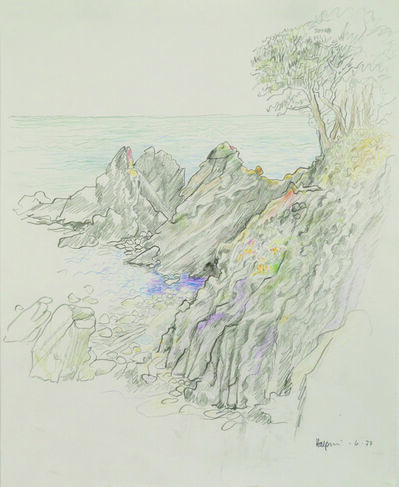 Lawrence Halprin, 'Cove and Rocks, Sea Ranch', 1977