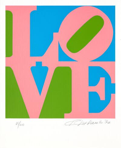 Robert Indiana, 'The Book of Love 11', 1996