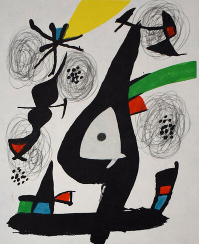 Joan Miró, 'Composition I, from: The Acid Melody | La Mélodie Acide', 1980