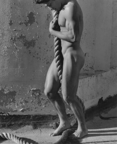 Herb Ritts, 'Tony with Rope, Los Angeles', 1986