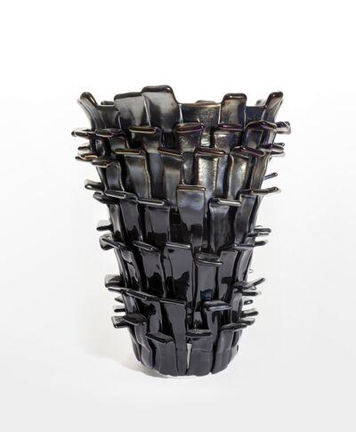 Fulvio Bianconi, 'A vase 'Ritagli'', 2004