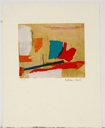 Esteban Vicente, 'Untitled', ca. 1970