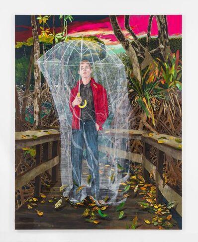 Hernan Bas, 'How best to suffer swamp life at dusk', 2020