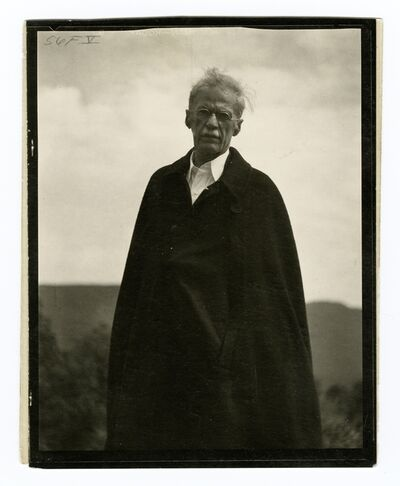 Paul Strand, 'Alfred Stieglitz, Lake George, New York', ca. 1929