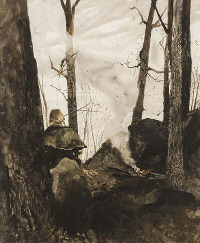 Andrew Wyeth, 'Big Rocks', 1974
