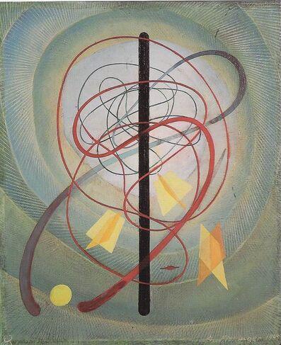 Oskar Fischinger, 'Flying Time Presence', 1949