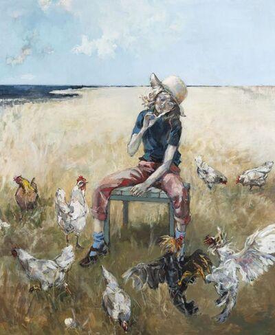 Ingebjorg Stoyva, 'En fjær blir til 10 høns...', 2020