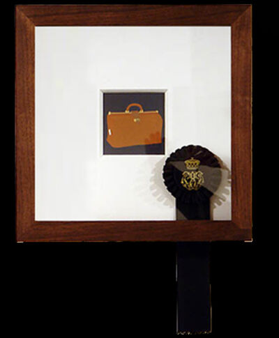 Carrie Marill, '2261: A lady's jewelry case, Goyard Paris', 2006
