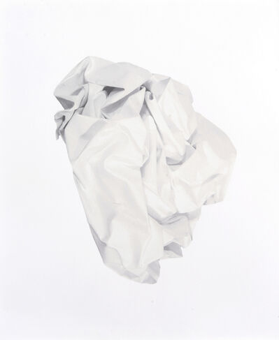 Angela de la Cruz, 'Nothing (White & Black)', 2010