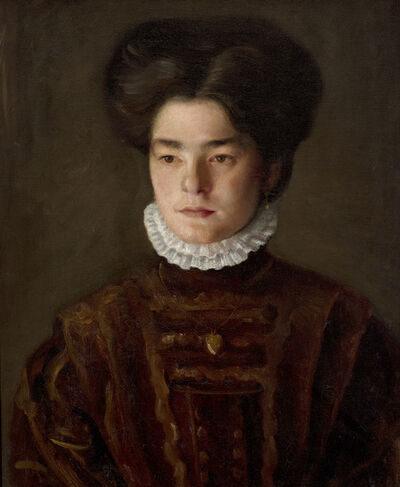 Mark Gertler, 'Portrait of a Girl (The Artist's Sister, Sophie)', ca. 1910