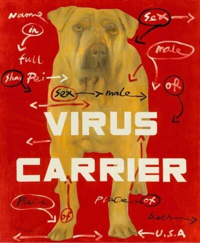 Wang Guangyi 王广义, 'Virus Carrier', 2008