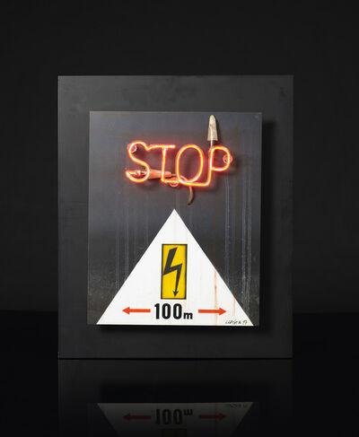 Peter Klasen, 'Stop', 1997