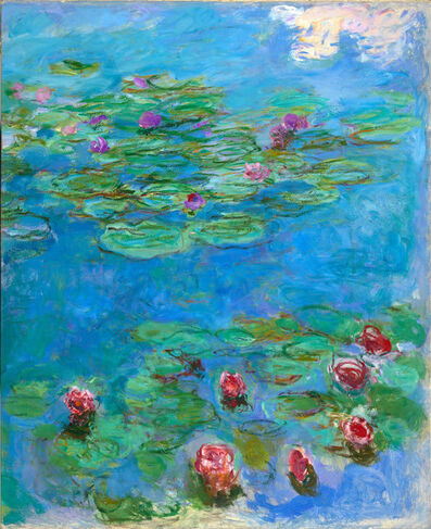 Claude Monet, 'Water Lilies', c. 1914-1917