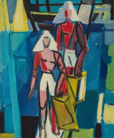 Antonio Corpora, 'Due donne'