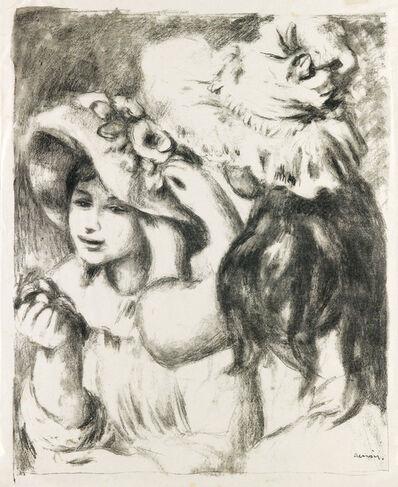 Pierre-Auguste Renoir, 'Le Chapeau Épinglé (2e planche)', 1897