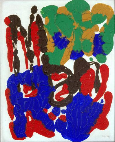 Man Ray, 'DECEMBRE OU LE CLOWN (NATURAL PAINTING) ', 1963