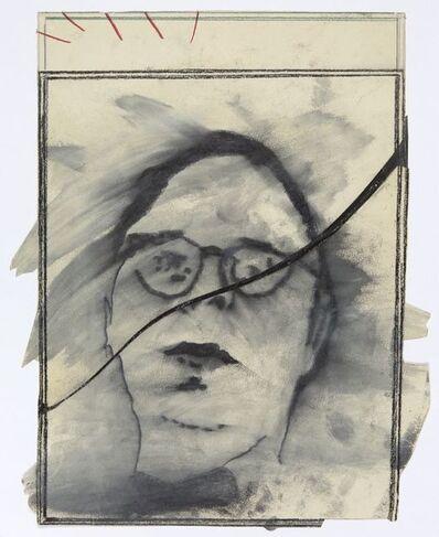 Martial Raysse, 'Étude pour Henry Geldzahler', 1963