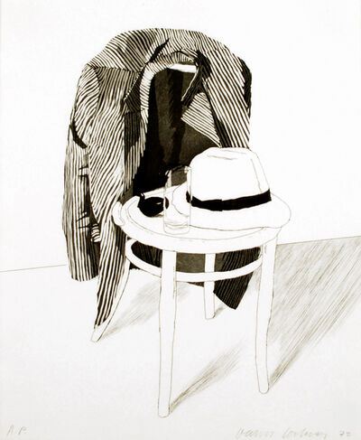 David Hockney, 'Panama Hat', ca. 1972