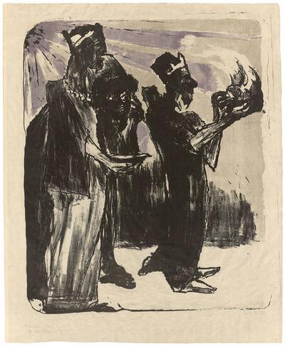 Emil Nolde, 'Die heiligen Drei Könige', 1913
