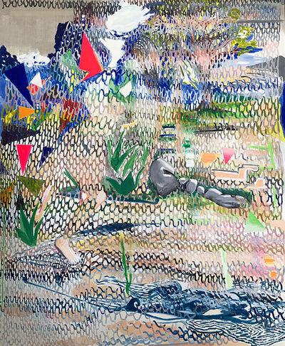 Alejandra Seeber, 'Knitt big rock', 2019