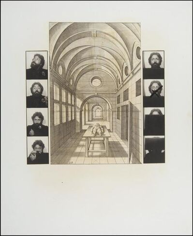 Rolando Peńa, 'The Seven Vanishing Points', 1978