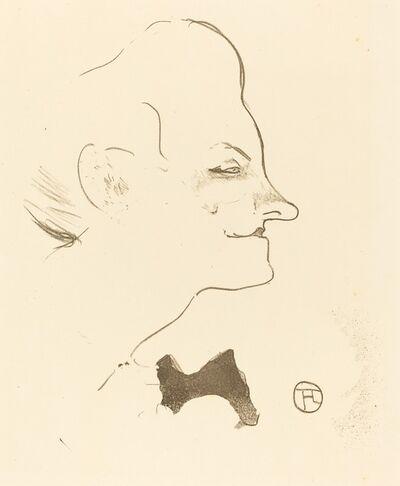 Henri de Toulouse-Lautrec, 'Yvette Guilbert', 1893