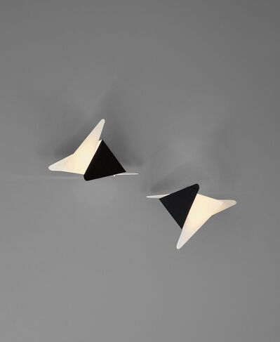 Jean Boris Lacroix, 'Pair of wall lights', ca. 1958