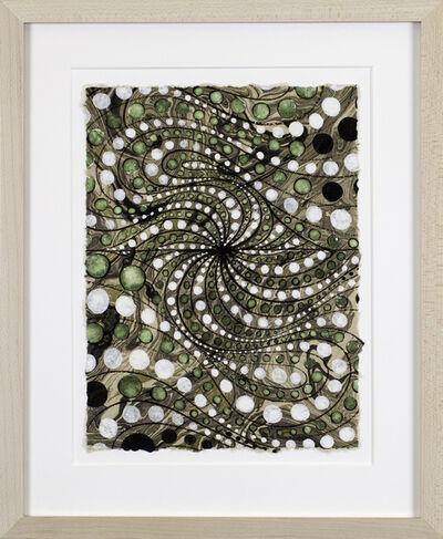 Barbara Takenaga, 'Untitled (green and white marbled)', 2019