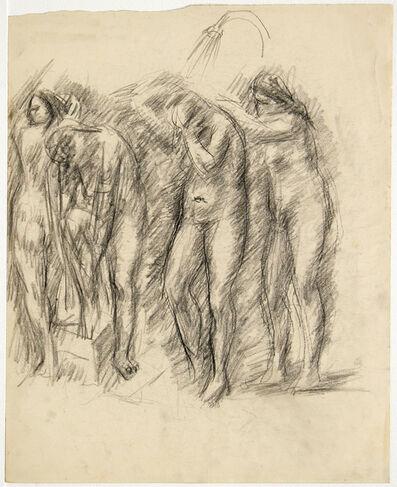 GABRO RAJČEVIĆ, 'Study of the Female Nudes under the Shower'