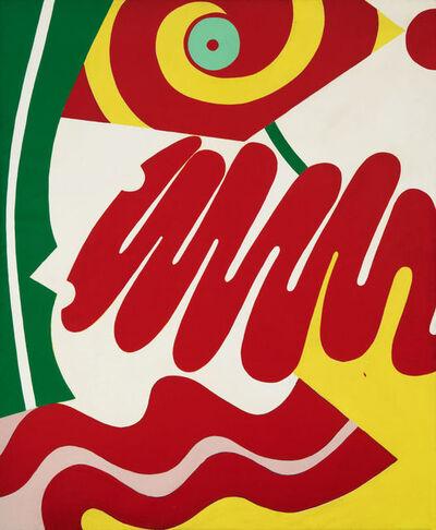 Knox Martin, 'Woman's Face', 1972