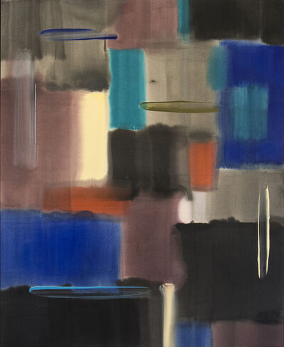 Milly Ristvedt, 'Night Ride (For Dayal Kaur) - large, contemporary, abstract, acrylic on canvas', 1989