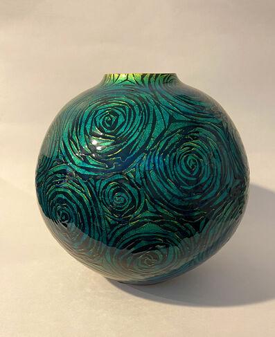Ono Hakuko, 'Green Globular Vessel', N/A