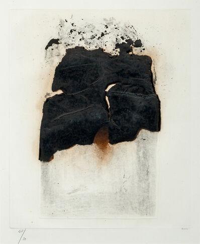 Alberto Burri, 'Combustione 1'
