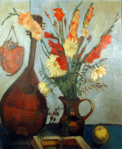 Isaac Soyer, 'Mandolin & Vase', 1902-1981