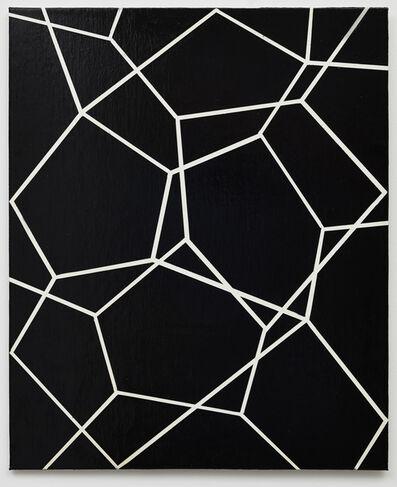 Beat Zoderer, 'räumliche Pentagramm Zeichnung No. 2/16', 2016