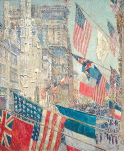 Childe Hassam, 'Allies Day, May 1917', 1917