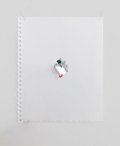 Richard Tuttle, 'Letter Pause 8', 2019