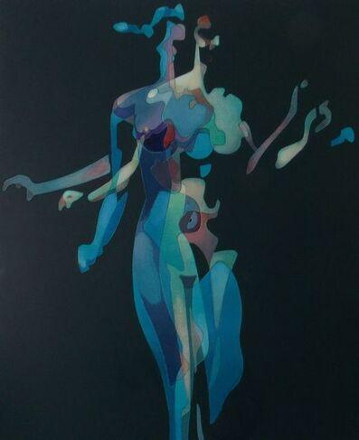 Milburn Foster, 'Woman Descending a Staircase, ', 2019