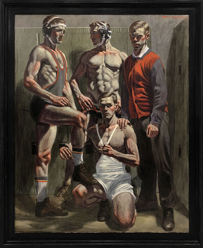 Mark Beard, '[Bruce Sargeant (1898-1938)] Champion Wrestling Team', n.d.