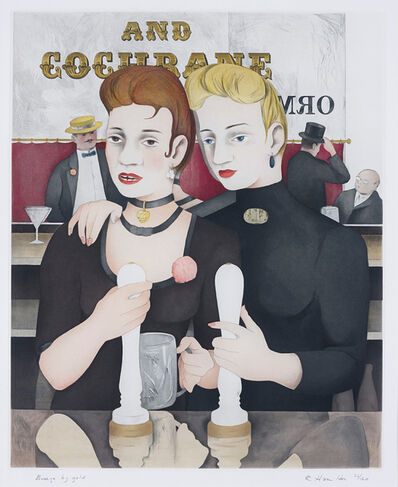 Richard Hamilton, 'Bronze by Gold', 1987