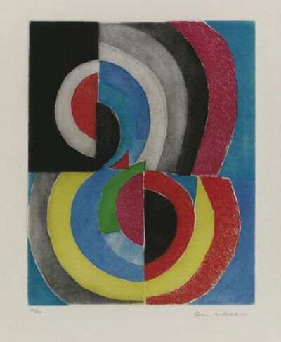 Sonia Delaunay, 'Composition', 1965