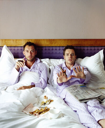 Lorenzo Agius, 'Jude and Ewans in Bed', 2003