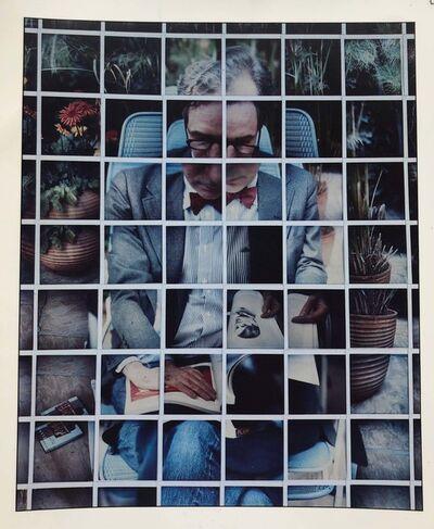 David Hockney, 'Nicholas Wilder Studying Picasso', 1982