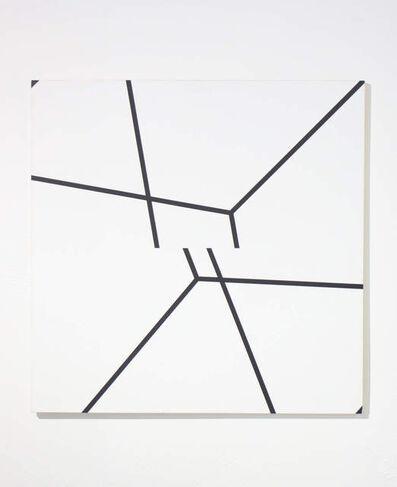 Manfred Mohr, 'p 200/201 bb 5', 1977-1979