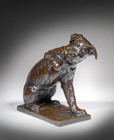 Edouard Marcel Sandoz, 'A dog with a Bee', ca. 1918